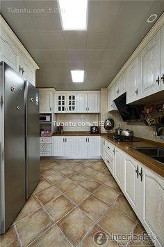 Kitchen Design American Style figure of the dark color kitchen decoration kitchen color