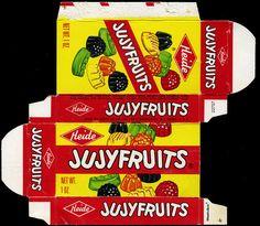 Heide - Jujyfruits 1 oz candy box - 1970's by JasonLiebig, via Flickr