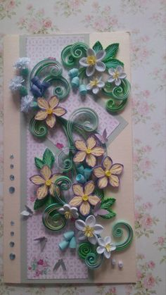 Quilling card by QuillingByKadriya on Etsy