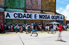 """O movimento #OcupeEstelita convida os militantes das zonas rural e urbana a participar do projeto """"Ocupe Campo-Cidade"""", que acontece no domingo, dia 12, a partir das 13h, no Cais José Estelita. A entrada é Catraca Livre."""