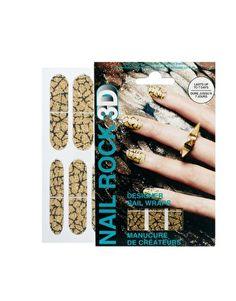 Nail Rock 3D Glitter Designer Wraps