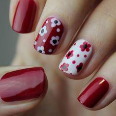 Disney Acrylic Nails, Cute Acrylic Nails, Cute Nails, Pretty Nails, Teal Nails, Dot Nail Art, Minimalist Nails, Rhinestone Nails, Flower Nails