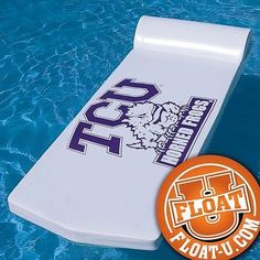 "Unsinkable Collegiate Swimming Pool Float 72"" UT A M Texas Tech SMU TCU 