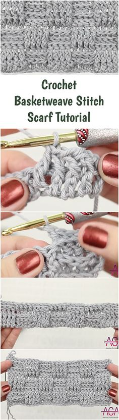 Crochet a scarf for men and kids by using the basketweave stitch - Quick, Free, Easy & Step by step video tutorial. Tutorial for DIY Scarves Pattern. | Free Crochet Tutorials For Beginners | Beginners Crochet VideoTutorials From Youtube | Crochet Stitches | Free Crochet Patterns | Crochet Projects & Ideas | Fast , Simple & Quick Crochet Tutorials | Crochet Blankets |  Beginner Tutorial | Scarves / Scarf For Kids , Men And Women | Infinity Loose & Chunky Scarf DIY | Unique Crochet Crafts…
