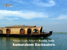 A famous tourist attraction and quite unusual site, Kumarakom is a backwater located in the backdrop of the Vembanad Lake – the largest one in Kerala. Its symbol is the houseboat, which nowadays is used for the tourists' entertainment.    #Kumarakom #Backwater #Kerala #India #Lake #Vembanad #tourists #vacation #getaway #holiday #wanderlust #paradise #trip #tourist #travel #travelideas