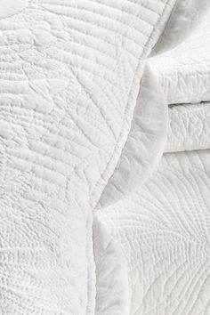 Personal quilting goal: hand quilt a white on white quilt.