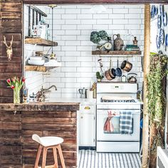 Tiny Kitchen Organizing and Decorating Tips from Zio & Sons