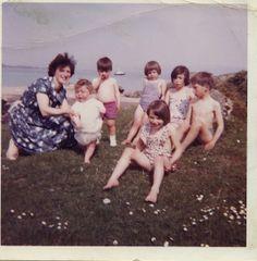 Mum, Susan,Alan,Shirley,Brenda,Ralph and Iain, mid 60's