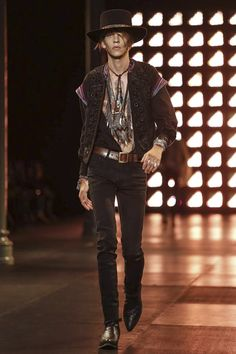 Saint Laurent Menswear Spring Summer 2015 Paris