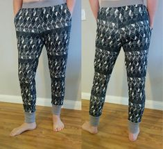 I picked up these tracksuit fabrics at Spotlight the other day. I& not normally a fan of polyester fabrics, but these feel premium quality . Pajama Pants Pattern, Pants Pattern Free, Suit Pattern, Free Pattern, Sewing Patterns Free, Free Sewing, Clothing Patterns, Sewing Ideas, Sewing Projects