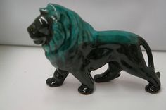 One 7, Blue Mountain, Lion Sculpture, Canada, Pottery, Clay, Touch, Ceramics, Statue