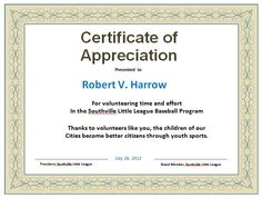 Free certificate of appreciation sample blank certificate of 30 free certificate of appreciation templates and letters yadclub Image collections