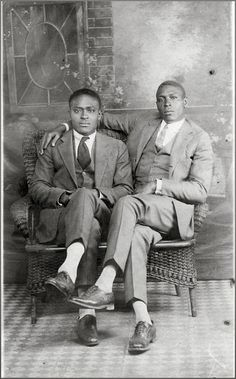 Homo History: In Honor of Black History Month: Vintage African American Gay Couples