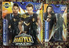 LOT OF 2 WWE BATTLE PACK 26 SETH ROLLINS AMBROSE ROMAN REIGNS SERIES 41 SHIELD - http://bestsellerlist.co.uk/lot-of-2-wwe-battle-pack-26-seth-rollins-ambrose-roman-reigns-series-41-shield/