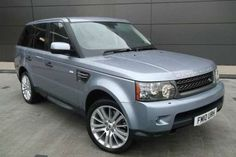 Used 2010 (10 reg) Izmir Blue Metallic Land Rover Range Rover Sport 3.0 TDV6 HSE for sale on RAC Cars