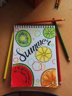 Excellent Pics summer drawing ideas Ideas If too little sketching tips are holding you back from beginning your sketching journey, then we'v Summer Drawings, Cool Art Drawings, Art Drawings Sketches, Easy Drawings, Drawing Ideas, Bullet Journal Art, Bullet Journal Ideas Pages, Bullet Journal Inspiration, Arte 8 Bits