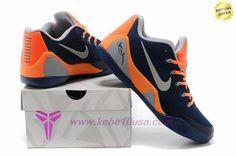 best website 44bd3 0f15e 74194-004 Blue orange Nike Kobe 9 EM Mens On Cyber Monday