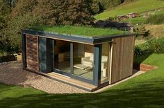 Pod Space is a new garden office company - with a rather nice web site - set up by architecturally trained designer Ben Lord. Interestingly, and this is a trend I expect to see more of in 2010, the pods (there are three models) are aimed at employers who want to give their staff the option of working from home as well as individual shedworkers.