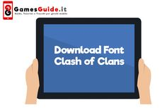 Download Font Clash of Clans