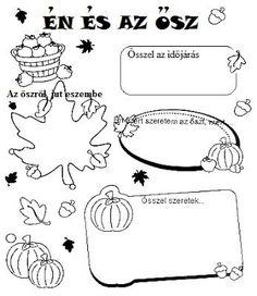 Töltse ki a kért információkkal az őszről! School Frame, Cicely Mary Barker, Autumn Crafts, School Hacks, Special Education, Fall Halloween, Games For Kids, Kids Learning, Kids Playing