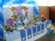 cumpleaos infantiles on pinterest fiestas mesas and bubble guppies