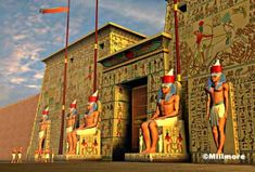 egyptian temple recreations - Bing Images