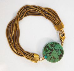 Turquoise Medallion Bracelet#Repin By:Pinterest++ for iPad#