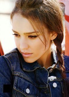 She is perfection!! Jessica Alba.
