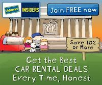 Join Alamo Insiders For Free and Save 10% or More on Every Car Rental!