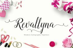 Here comes today Revallyna Script Free Demo from Unicode Studio. Revallyna is a modern script font with fascinating curves. Also, it represents femini...