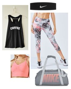 Gym by alysonnewman on Polyvore featuring Fabletics and NIKE