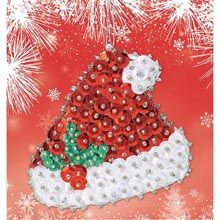 """/""""Americana Star OR Heart OR Bell/"""" kit makes 2 ornaments styrofoam sequins pearls"""