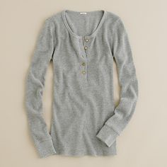 Vintage thermal henley $34.50 size XS Grey