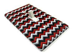 Light Switch Cover Multicolored Chevron Home Decor by ModernSwitch, $8.00