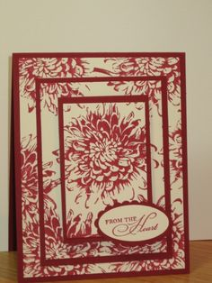 Blooming with Kindness by Tracy_Lee - Cards and Paper Crafts at Splitcoaststampers Fancy Fold Cards, Folded Cards, Tracy Lee, Good Color Combinations, Stamp Card, Kings Crown, Card Making Techniques, Rubber Stamping, Chrysanthemum
