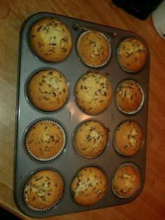 Vanille cupcakes met stukjes hagelslag