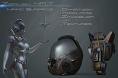 Sculpture Zbrush 4R7 : Hard surface