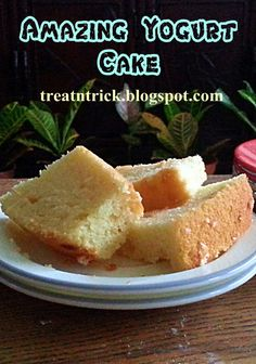 Amazing Yogurt Cake @ treatntrick.blogspot.com