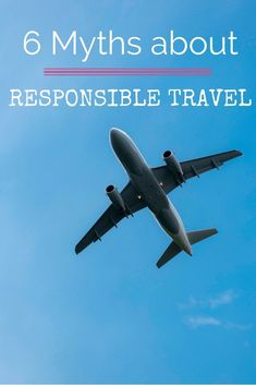 It is important that you realize that if we keep traveling like this, tourism and travel will not stay the same. Understanding that there is a role we need to play by acting and behaving responsible at home AND during travels is a great start. This is whe