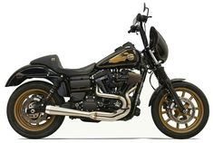 Harley Low Rider S - Greg Lutzka signature Bassani exhaust