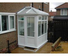 2.5m X 2.5m Edwardian DIY Porch  UPVC Made To Measure