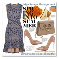 """""""Ideal Image"""" by jamilia-wallace on Polyvore featuring BCBGMAXAZRIA and Christian Louboutin"""