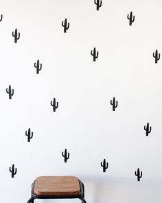 Best Scandinavian Home Design Ideas. The Best of interior decor in - Home Decoration - Interior Design Ideas Wall Decal Sticker, Wall Stickers, Cactus Stickers, Inspiration Wand, Interior Inspiration, Interior And Exterior, Interior Design, Cosy Interior, Decoration Table