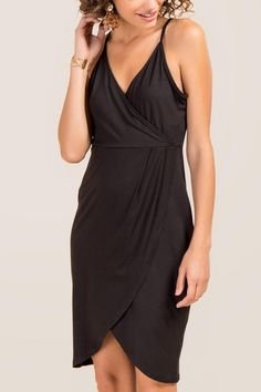 1383290951e6 Lyndsi Tulip Skirt Brushed Knit Dress
