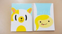 Forra / Decora Tus Cuadernos Con Fionna & Cake