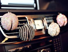 Crystal Ladybug Car vent clip car air by AlonmyCrystalCrafts Girly Car, Ideas Para Organizar, Car Storage, Car Hacks, Car Air Freshener, Sweet Cars, Love Car, Cute Cars, Wheel Cover