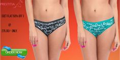 EVERYDAY COMFORT Full Hip Coverage with Assorted printed Separate by color, wash   in cold water, tumble dry.click below to know more. http://www.prestitia.co.in/products/panties/full-hip-coverage.html