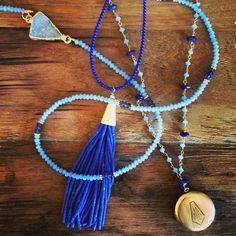Lavender and blues//www.theodosiajewelry.com