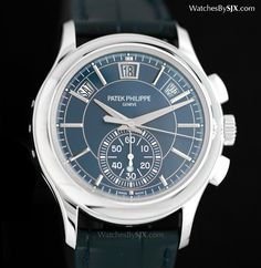 Watches by SJX: Hands-On With The Patek Philippe Ref. 5905P Annual...