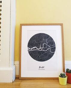 Enjoy Bristol with our Street Map. Decorate your home with the city where you were born or your favorite. Bristol Map, Bristol Street, Wall Maps, Map Art, Decorating Your Home, Colorful Backgrounds, Forget, Tapestry, History